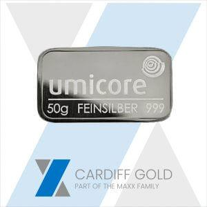 sell to us a 50g silver bar
